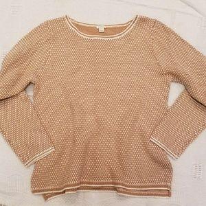 J Crew Tan Sweater Size XL